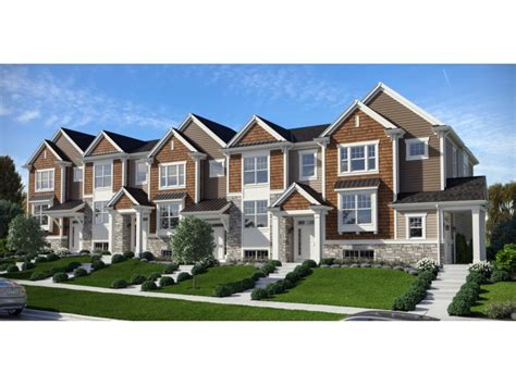 row homes sales begin at the row homes of fontana shodeen homes