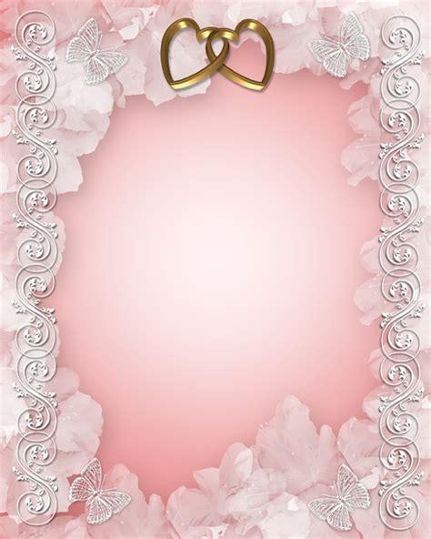 25 contoh undangan simple dan soft atau cara membuat photo collection background undangan pernikahan pink