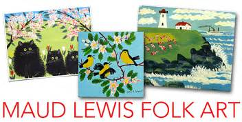 maud lewis folk art projects deep space sparkle