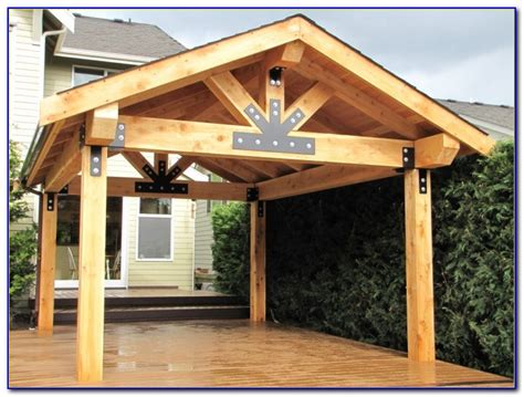 Free Standing Wood Patio Covers