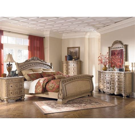 Furniture Millennium Bedroom by South Coast Sleigh Bedroom Set Millennium Furniture Cart