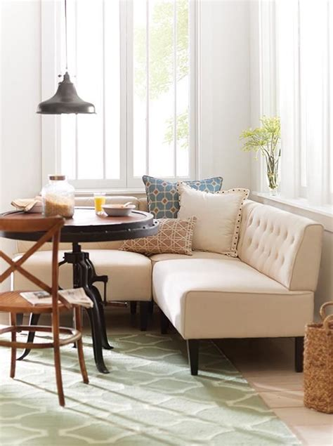 Upholstered Corner Banquette by Best 25 Corner Breakfast Nooks Ideas On