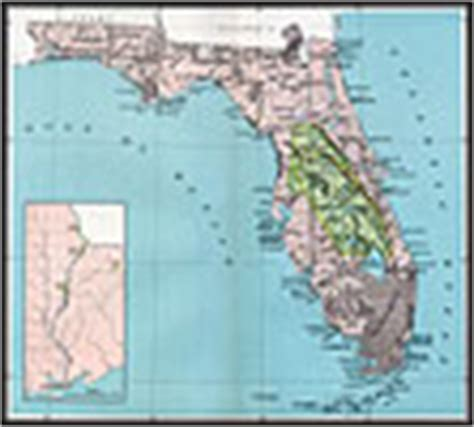 florida indian reservations map americans in florida maps