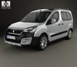 Peugeot Partner Outdoor Peugeot Partner Tepee Outdoor 2015 3d Model Humster3d