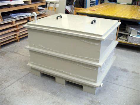 vasche su misura lavorazione materie plastiche impianti industriali