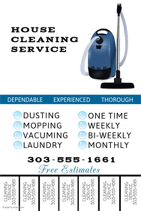 Cleaning Service Flyer Templates Postermywall House Cleaning Flyers Templates Free