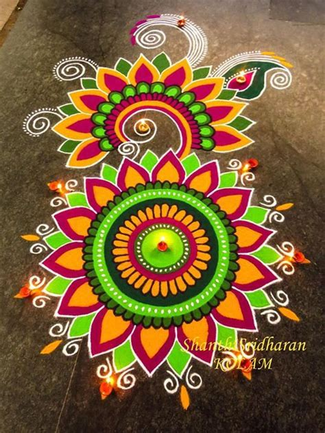 Decoration For Ganesh Festival At Home by 1000 Ideas About Rangoli Designs On Pinterest Easy
