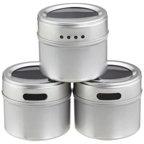 Kitchen Canisters Canada magnetic spice tins the container store