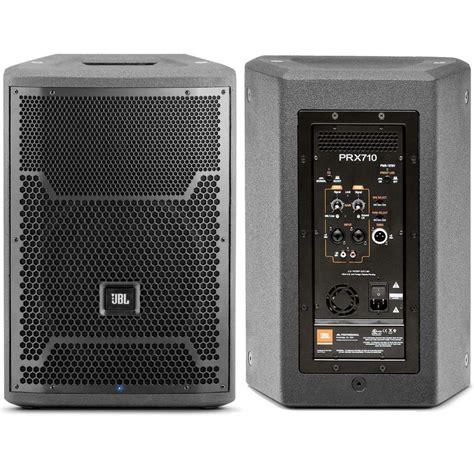 Speaker Aktif La jbl bocina lificada 1500w 10 two way prx710 40 043 00 en mercado libre