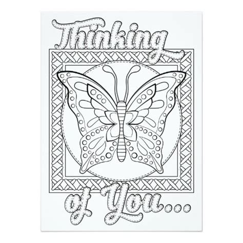 printable thinking of you card template printable coloring sympathy cards coloring pages