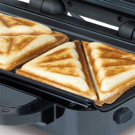 Toaster Sandwich high gloss duraceramic sandwich toaster breville
