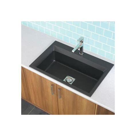 33 Quot X 22 Quot Workcenter Granite Rok Single Bowl Kitchen Sink 33 X 22 Single Bowl Kitchen Sink