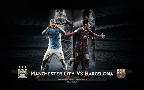 Wallpaper Barcelona Vs Manchester City | manchester city vs barcelona hd football wallpapers