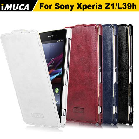 Leather Flip Cover View Sony Experia C Original Ume cover sony z1 goods catalog chinaprices net