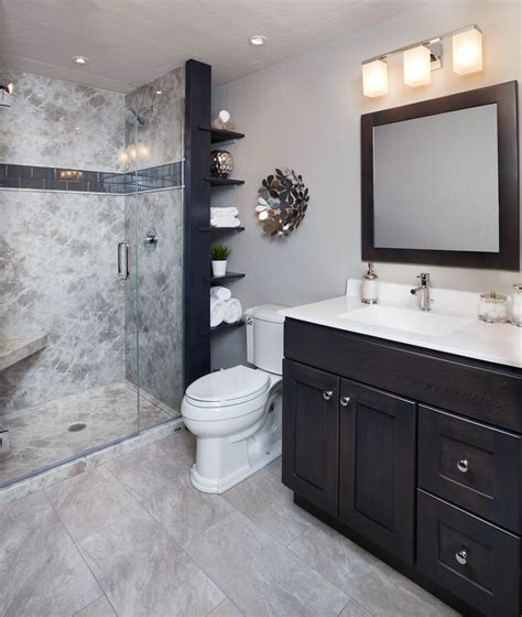 bathroom color trends grey emperador wall surround re bath 174 vignettes in 2019