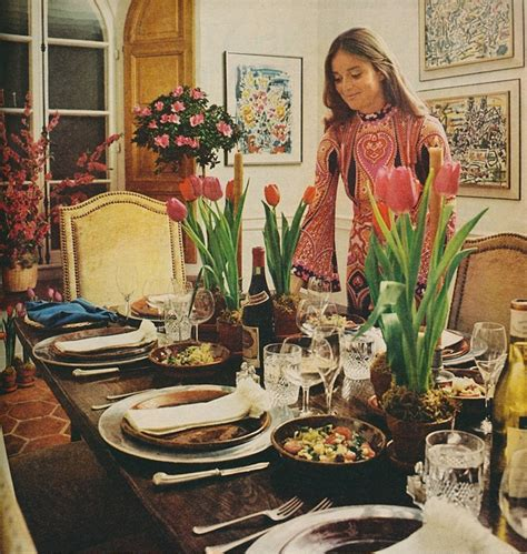 Home Interior Home Parties by A Paella Party House Amp Garden 1971 1970s Home Decor