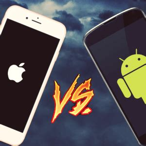 android versus iphone android vs iphone icecream tech digest