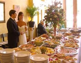wedding reception buffet caff 233 on site wedding reception
