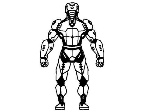 evil robot coloring page robot back coloring page coloringcrew com