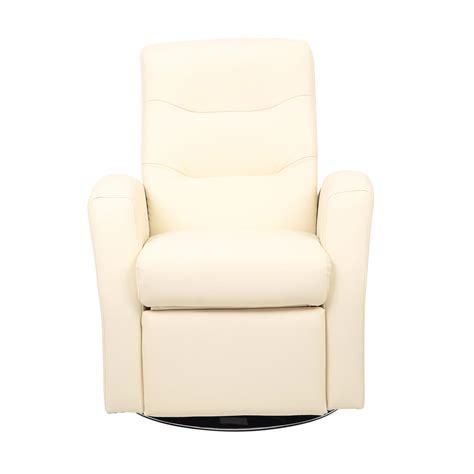 Kids Reclining Swivel Chair Furniture Comfy Faux Leather Comfy Swivel Chair