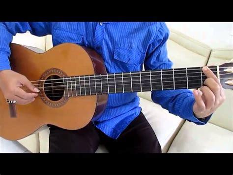 belajar kunci gitar fingerstyle belajar kunci gitar gigi andai intro youtube