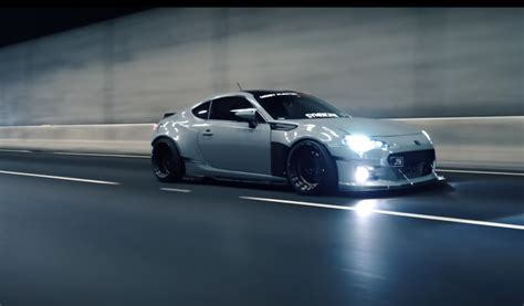 custom subaru brz turbo this subaru brz turbo is the widebody sti subaru never