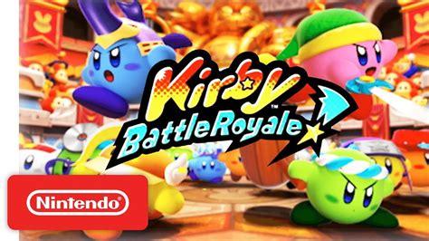Nintendo 3ds Kirby Battle Royale kirby battle royale reveal trailer nintendo 3ds