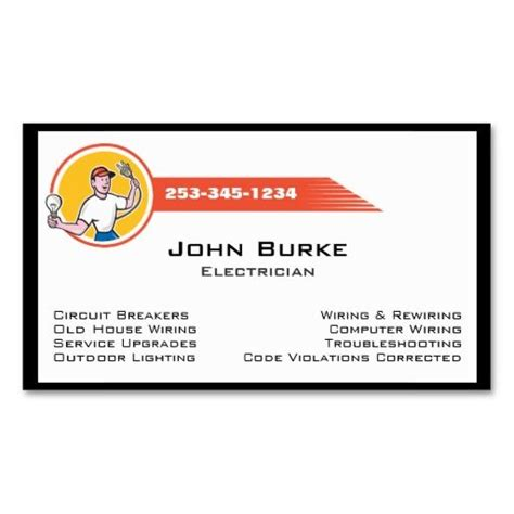 Card Templates Electrician by The 62 Best Images About Business Cards Make It Yourself