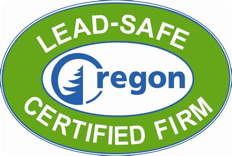 lead safe certified logo oregon home builders