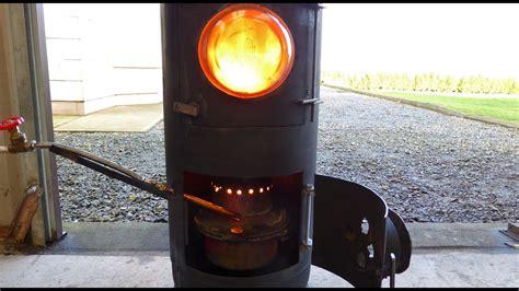 fantastic diy waste oil  wood burning stove heater