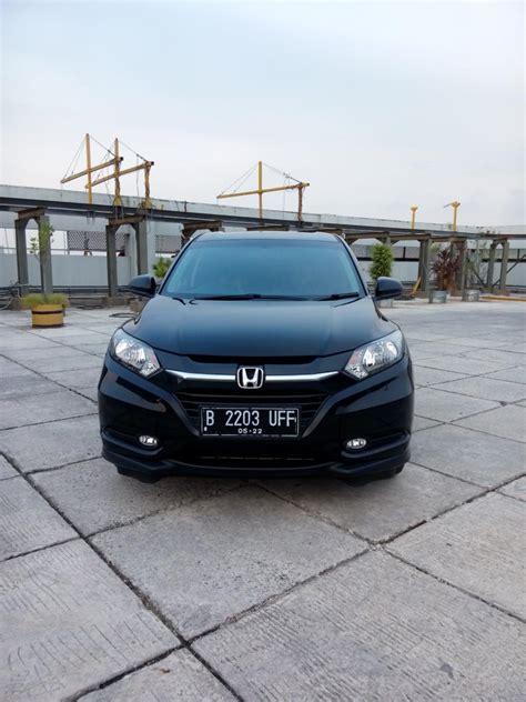 Honda Hrv 1 5 E Matic 2015 hr v honda hrv 1 5 e cvt matic 2017 hitam km 4 rban