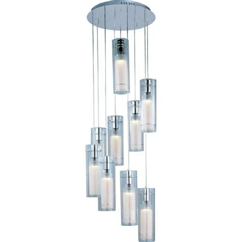 et2 contemporary lighting frost multi light pendant e22204 10