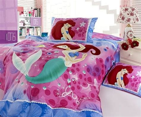 ariel bedroom girls bedding 30 princess and fairytale inspired sheets