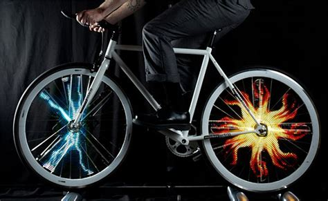 monkey lights for cars monkey light led bicycle wheel display system ippinka