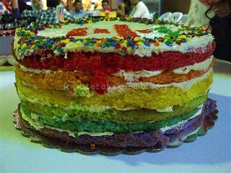 gambar pelangi bulat koleksi gambar hd kek hari jadi pin sofiya homemade bakery kek hari jadi