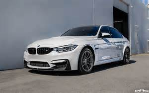 Bmw F80 M3 Alpine White Bmw F80 M3 Gets Visual Mods Added