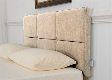 Buttoned Headboard by Tempur Beds Ardennes Buttoned Headboard 135cm