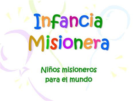 imagenes niños misioneros infancia misionera