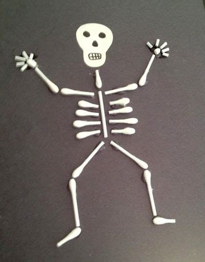 skeleton craft for 17 best ideas about skeleton craft on