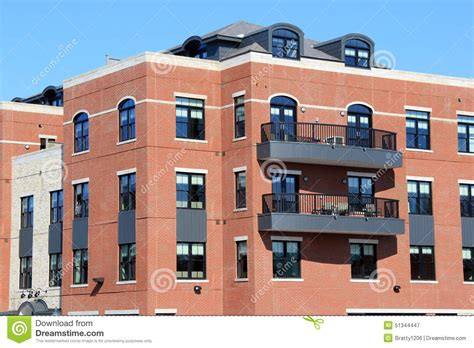 Blueprint Design App brick and stone apartment building with outdoor patios