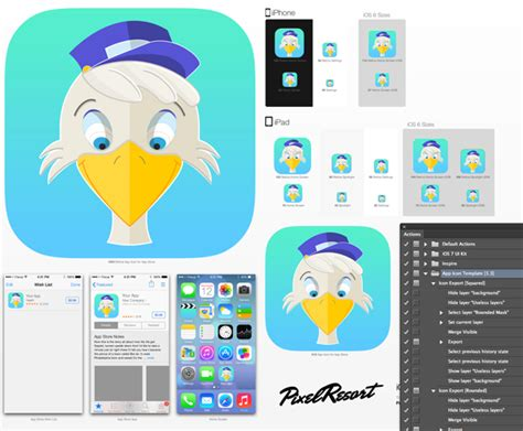How To Create An App Icon In Adobe Illustrator Designmodo App Icon Template Illustrator