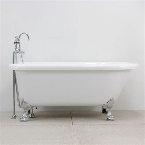 clawfoot bathtub fixtures hlfl62fpk 62 quot hotel collection classic clawfoot tub and