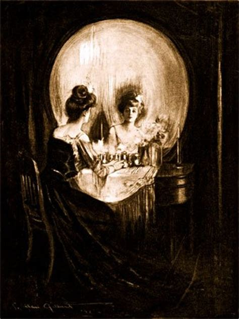 Tableau Sur La Vanité by All Is Vanity De Charles Gilbert Peinture Biographie