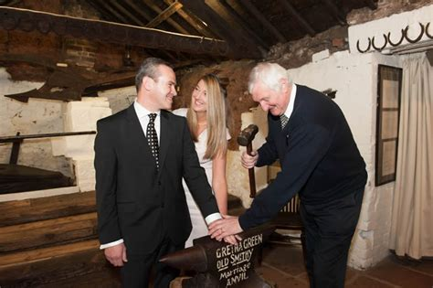 Wedding Blessing Gretna Green by Handfasting Renewalof Vows At Gretna Green