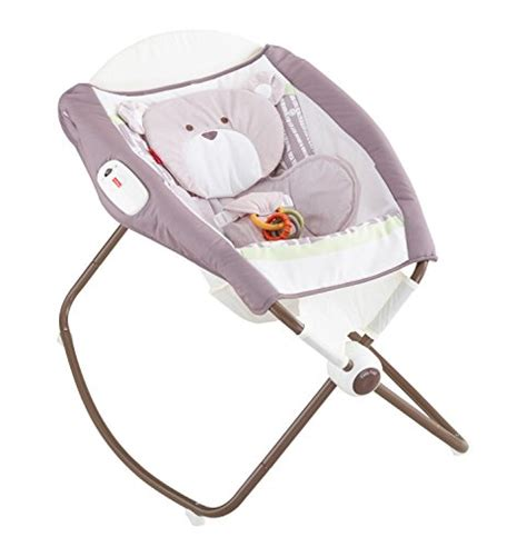 Deluxe And Secure Sleeper by Fisher Price Snugapuppy Deluxe Newborn Rock N