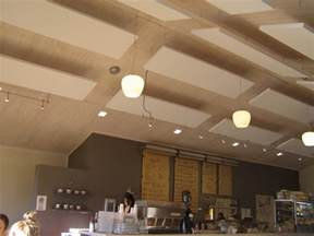 Cloud Ceiling Panels Reduce Noise And Add Style In Ceiling Design With Acoustic