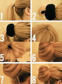 hair style juda new step by step hair style juda step by step bun hairstyles with