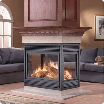 See Through Fireplace Insert by Napoleon Fireplace Napoleon See Thru Peninsula Island And