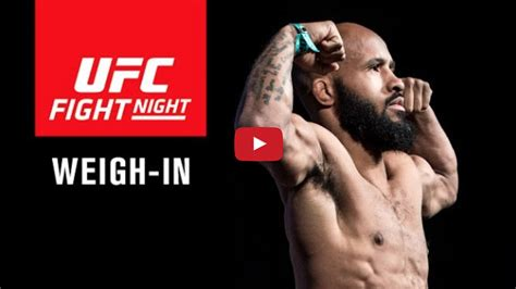 Liv Weighs In by Live Ufc On Fox 24 Weigh In Results For Johnson Vs