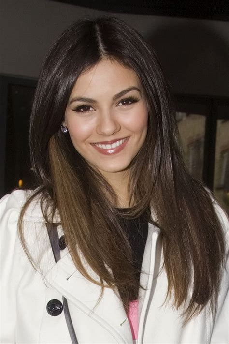 3year old straight fine haircut victoria justice long straight cut victoria justice